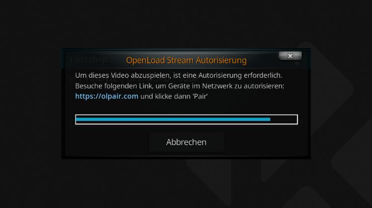 """""""Um dieses Video abzuspielen, ist eine Autorisierung erforderlich"""" - Was ist OpenLoad?"""