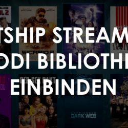 Lastship Streams in Kodi Bibliothek einbinden