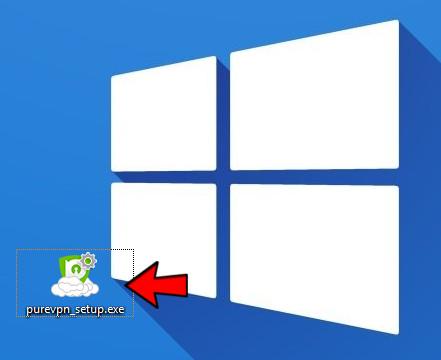 PureVPN Software für Windows installieren - Schritt 5
