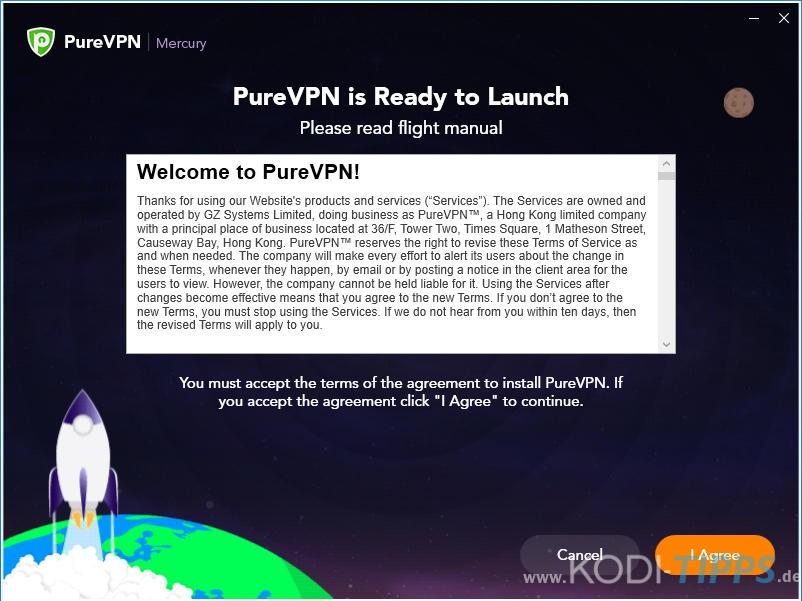 PureVPN Software für Windows installieren - Schritt 6