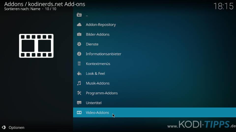 ServusTV Kodi Addon installieren - Schritt 1