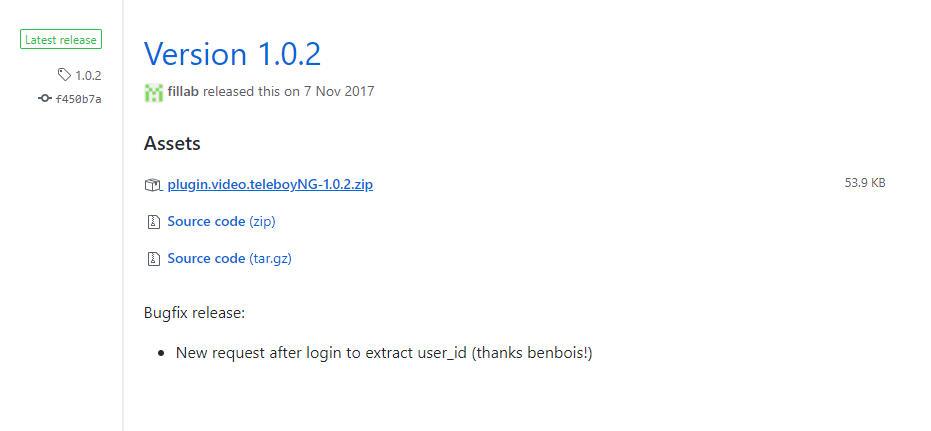 Teleboy Kodi Addon herunterladen & installieren - Schritt 1