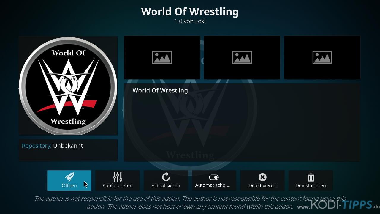 World of Wrestling Kodi Addon installieren - Schritt 10