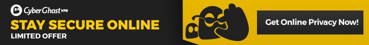 CyberGhost VPN - Stay Secure Banner