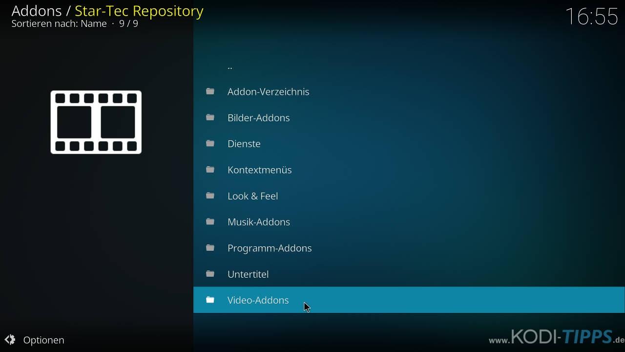 Venom Replay's Kodi Addon installieren - Schritt 7