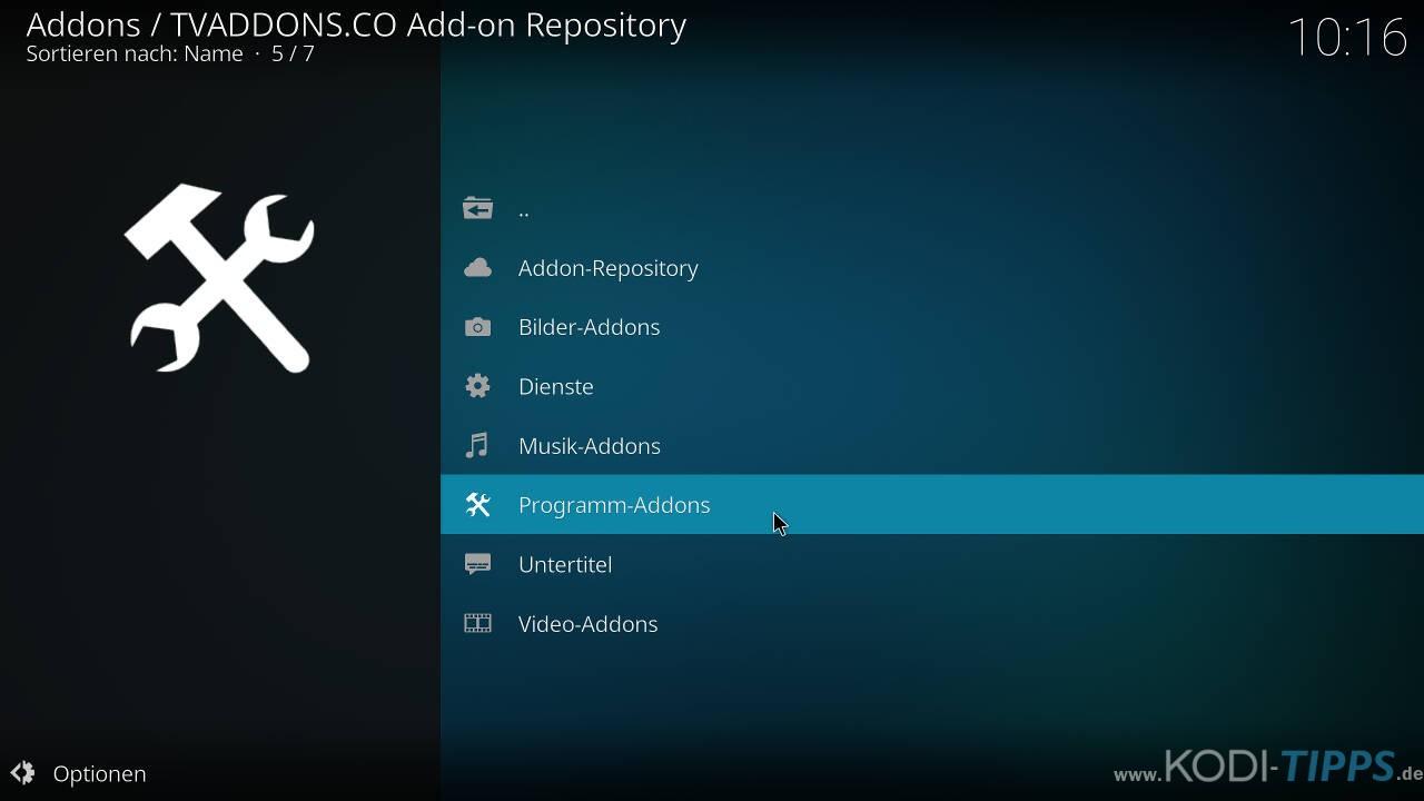 Lastship Kodi Addon OHNE Verschieben einer ZIP-Datei installieren - Schritt 8