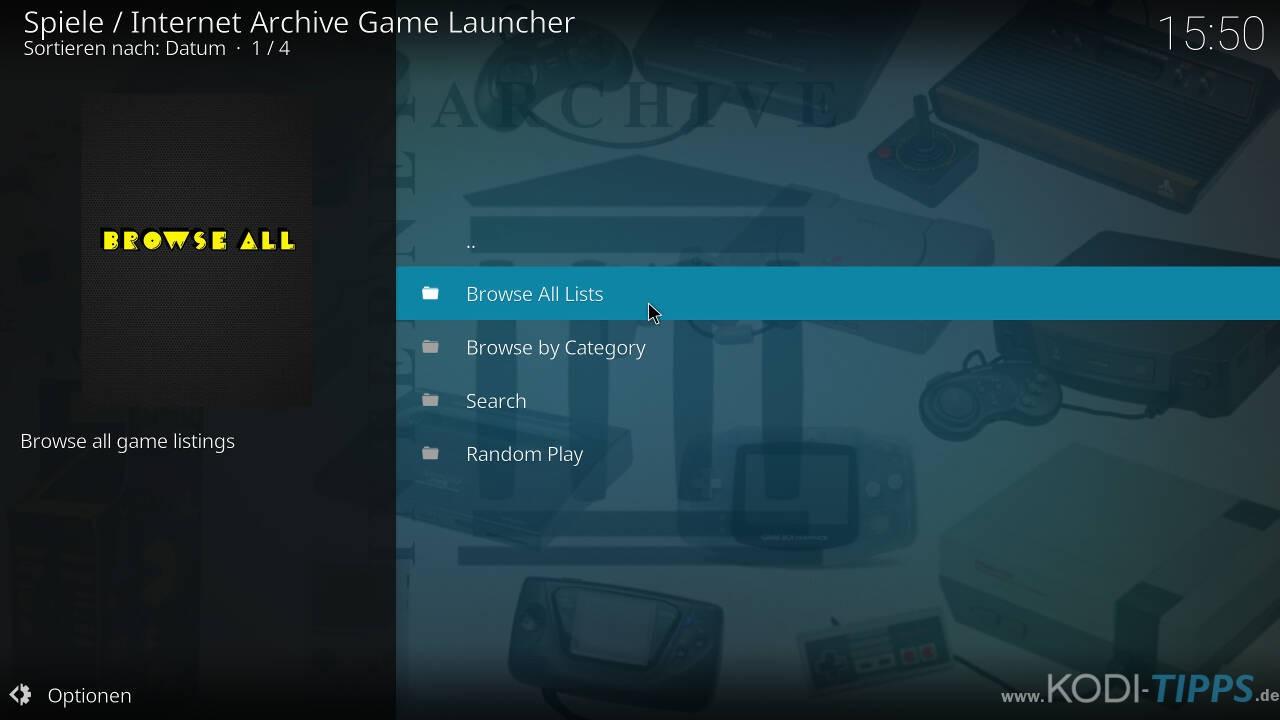 Kodi RetroPlayer - Retro-Spiele mit Kodi spielen - Schritt 25