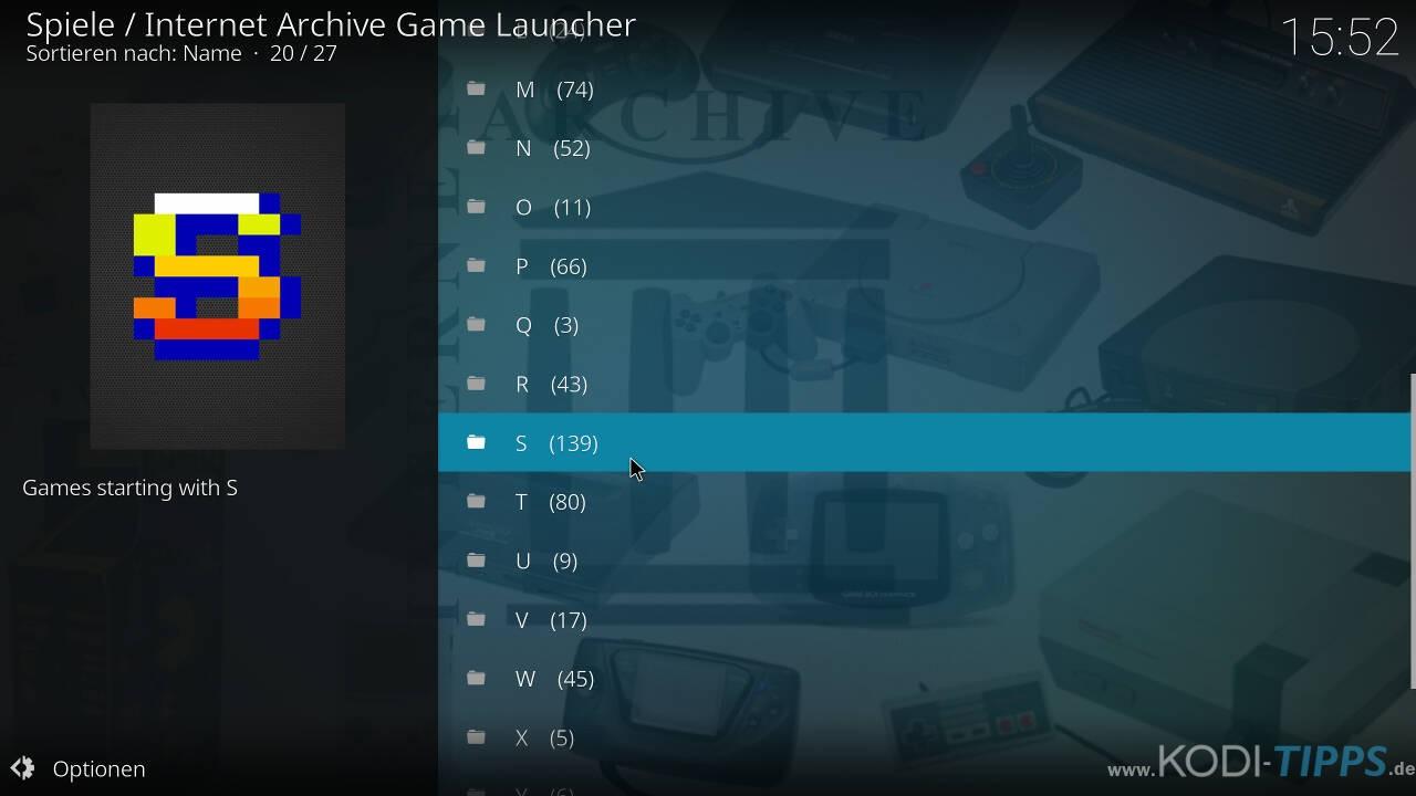 Kodi RetroPlayer - Retro-Spiele mit Kodi spielen - Schritt 37