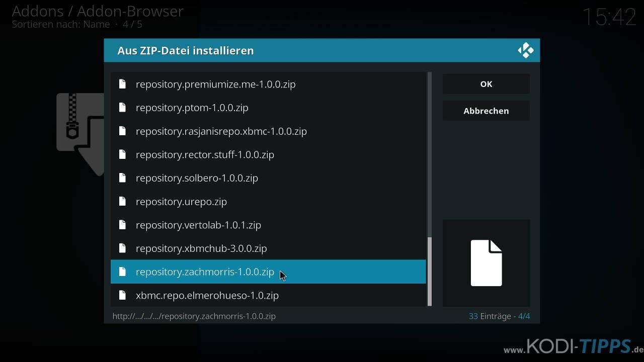 Kodi RetroPlayer - Retro-Spiele mit Kodi spielen - Schritt 4