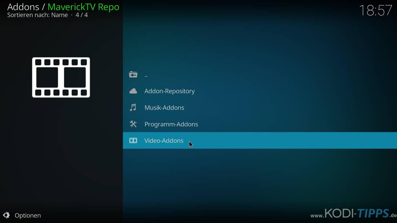 SportsDevil Kodi Addon installieren - Schritt 6