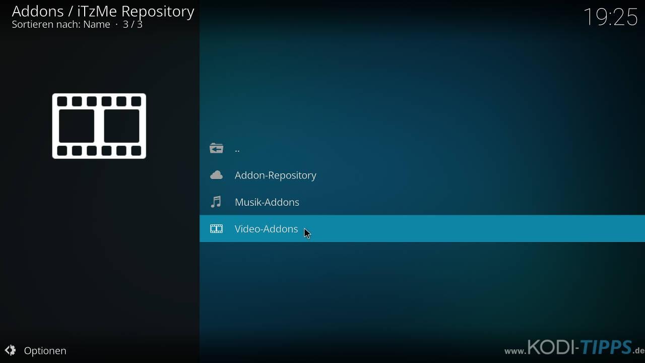 Modus Operandi Kodi Addon installieren - Schritt 6