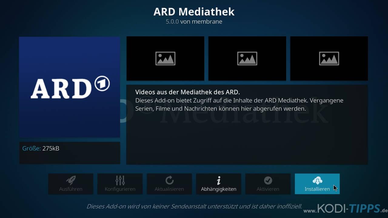 Ard Mediathek Kodi