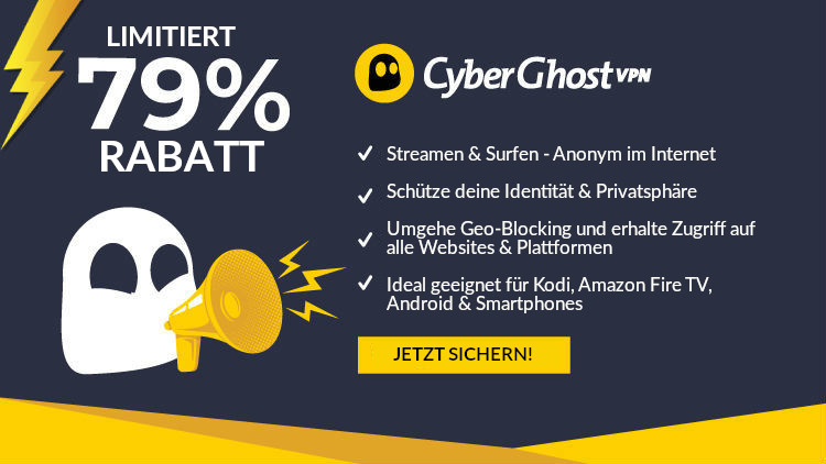 CyberGhost VPN Desktop Banner