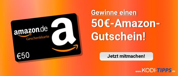 Gewinnspiel - 50 Euro Amazon Gutschein