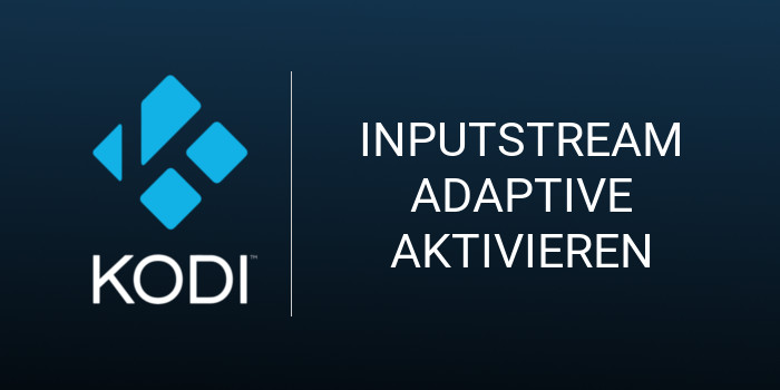 InputStream Adaptive & RTMP Input in Kodi aktivieren