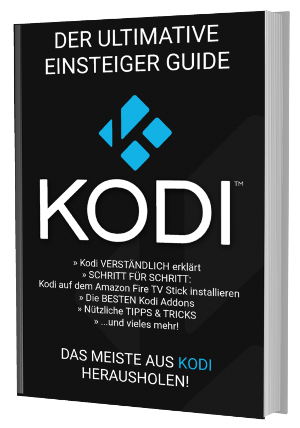 Kodi - Der ultimative Einsteiger Guide - Cover 3D