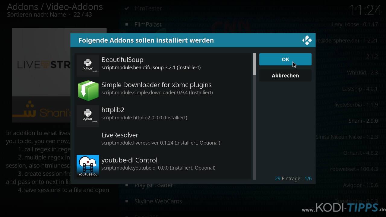 El Turko Portal Kodi Addon installieren - Schritt 15