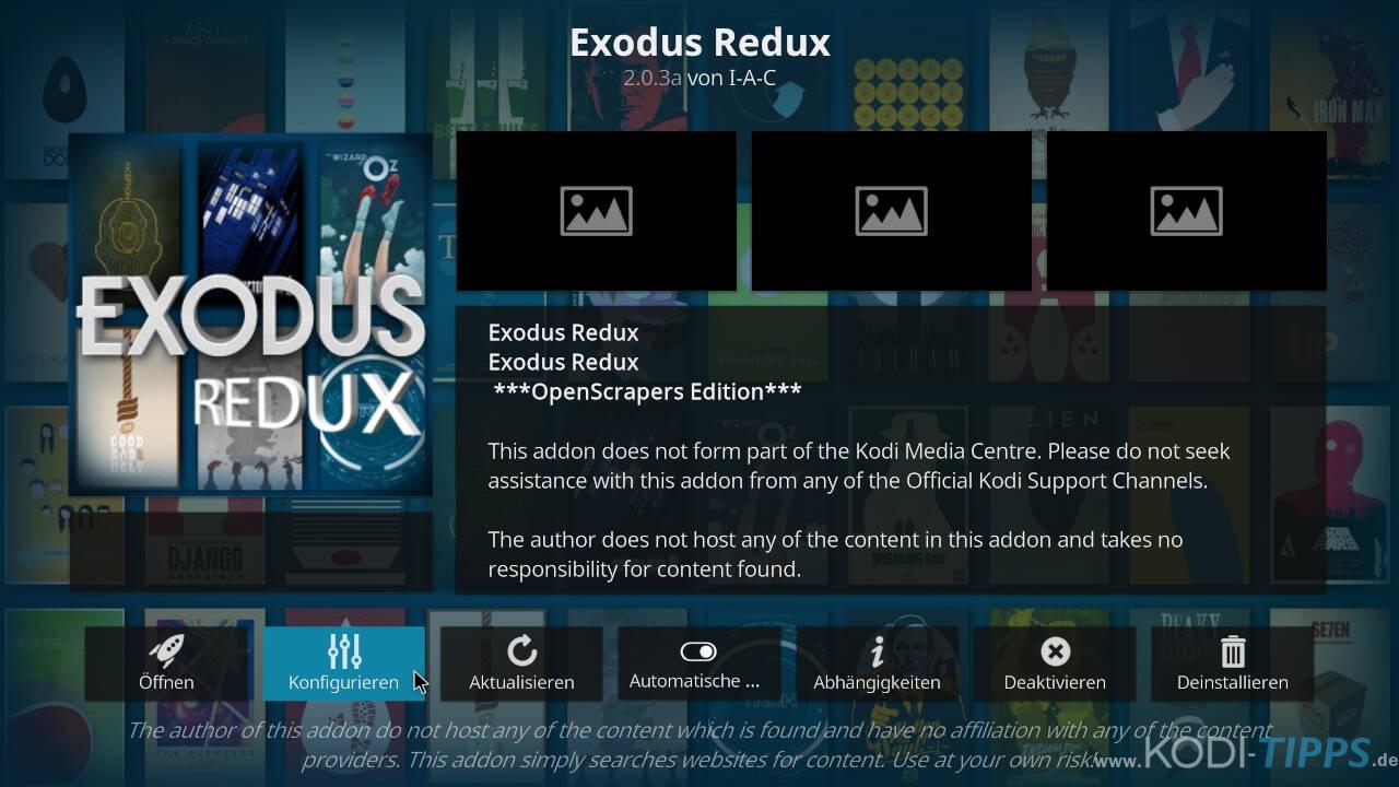 Exodus Redux auf Deutsch umstellen - Schritt 2