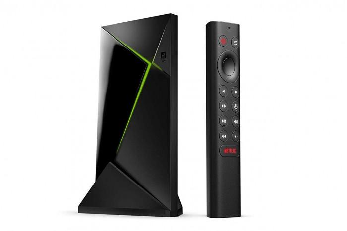 Nvidia Shield TV Pro mit neuer Fernbedienung