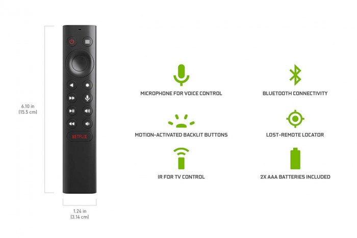 Die neue Nvidia Shield TV Fernbedienung