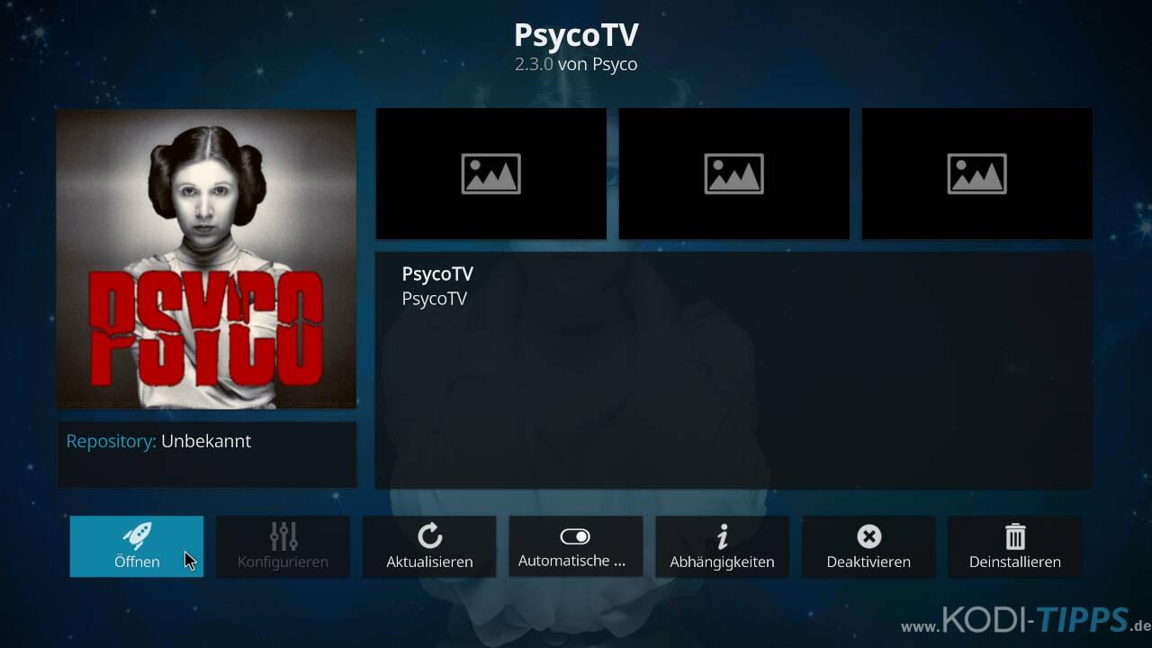 Psyco TV Kodi Addon installieren - Schritt 12