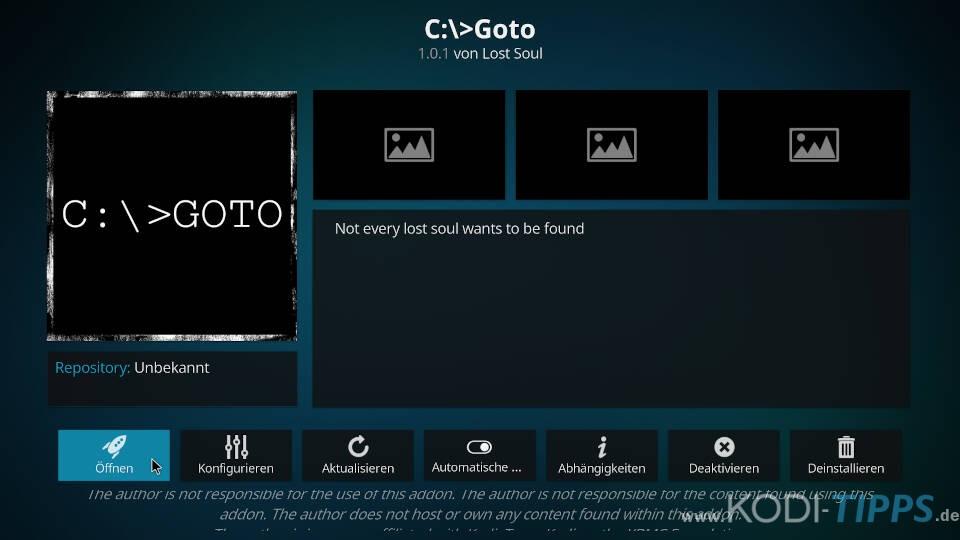 GOTO Kodi Addon installieren (C:\>Goto) - Schritt 11