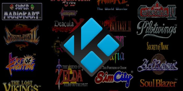 Kodi RetroPlayer - Retro-Spiele mit Kodi spielen