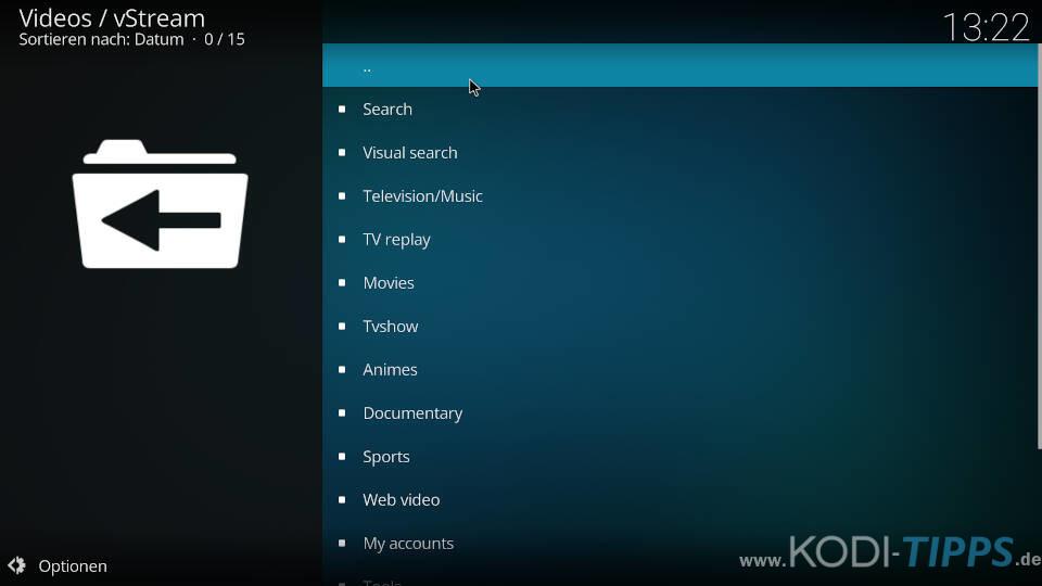 vStream Kodi Addon installieren - Schritt 12