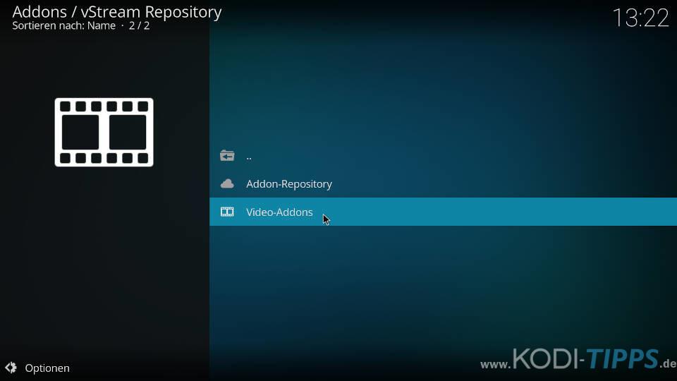 vStream Kodi Addon installieren - Schritt 6