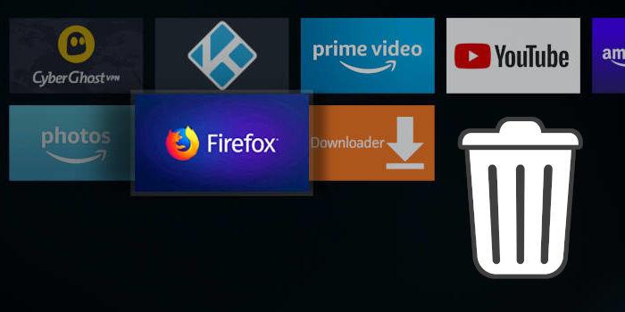 Fire TV Apps löschen und deinstallieren