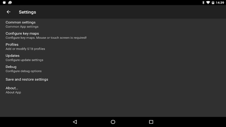 StbEmu Pro APK Android App - Screenshot 2