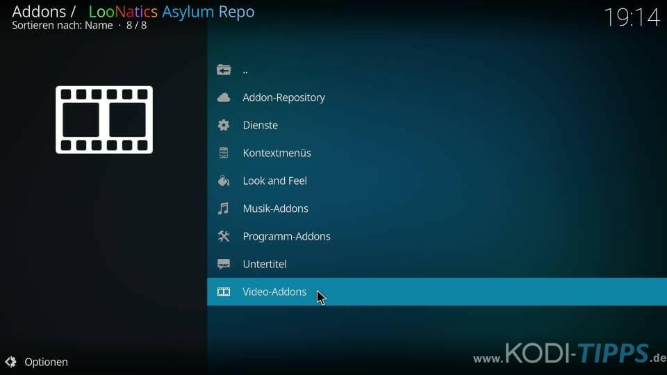 TvTap Kodi Addon installieren - Schritt 6