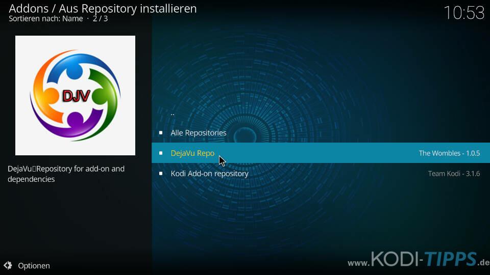 Cloud 9 Kodi Addon installieren - Schritt 5