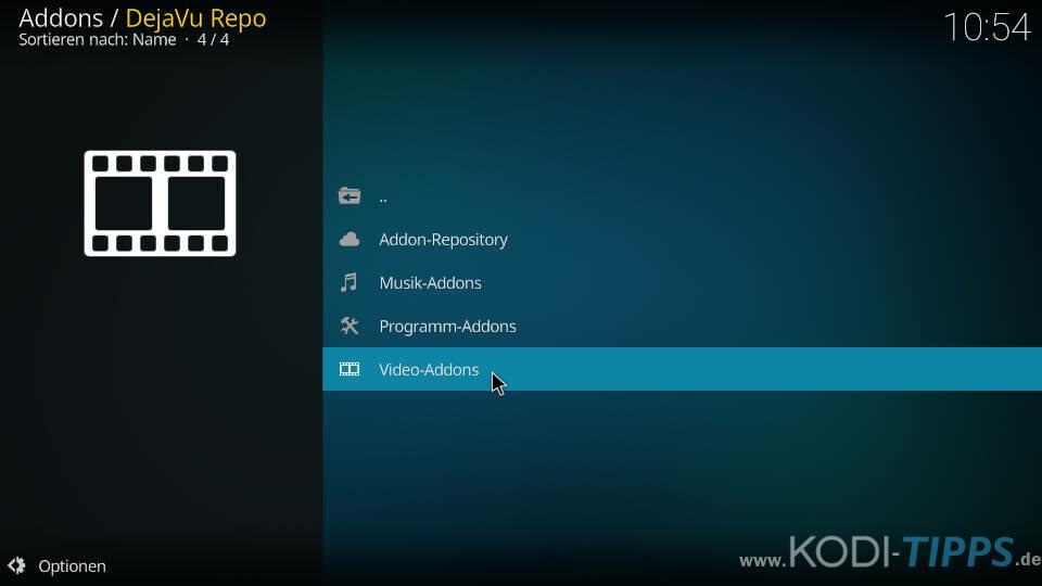 Cloud 9 Kodi Addon installieren - Schritt 6
