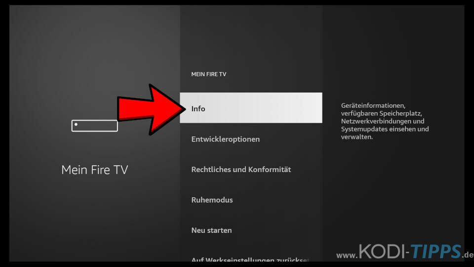 Dateien vom PC auf Fire TV übertragen - Schritt 4
