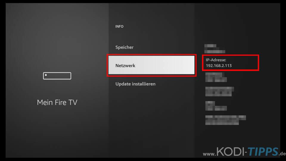Dateien vom PC auf Fire TV übertragen - Schritt 5