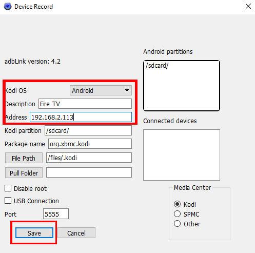 Dateien vom PC auf Fire TV übertragen - Schritt 7