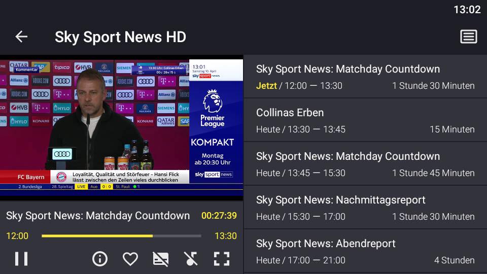 Televizo IPTV Player APK Android App - Screenshot 1