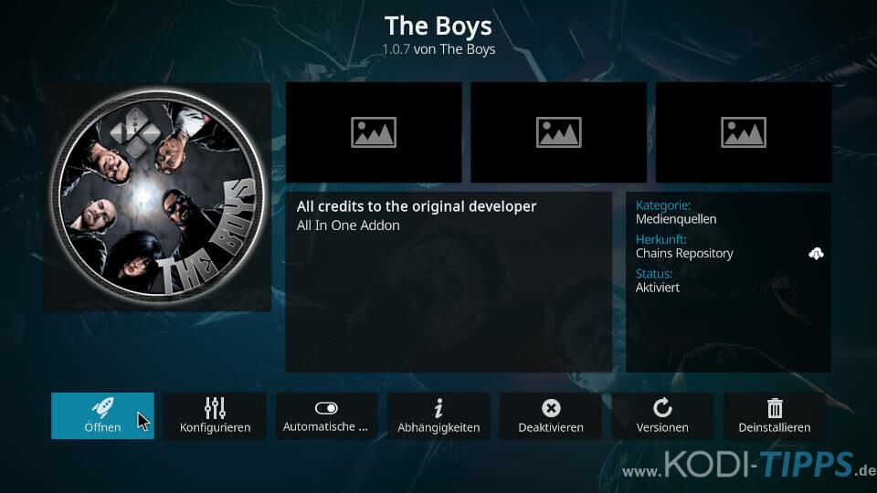 The Boys Kodi Addon installieren - Schritt 11