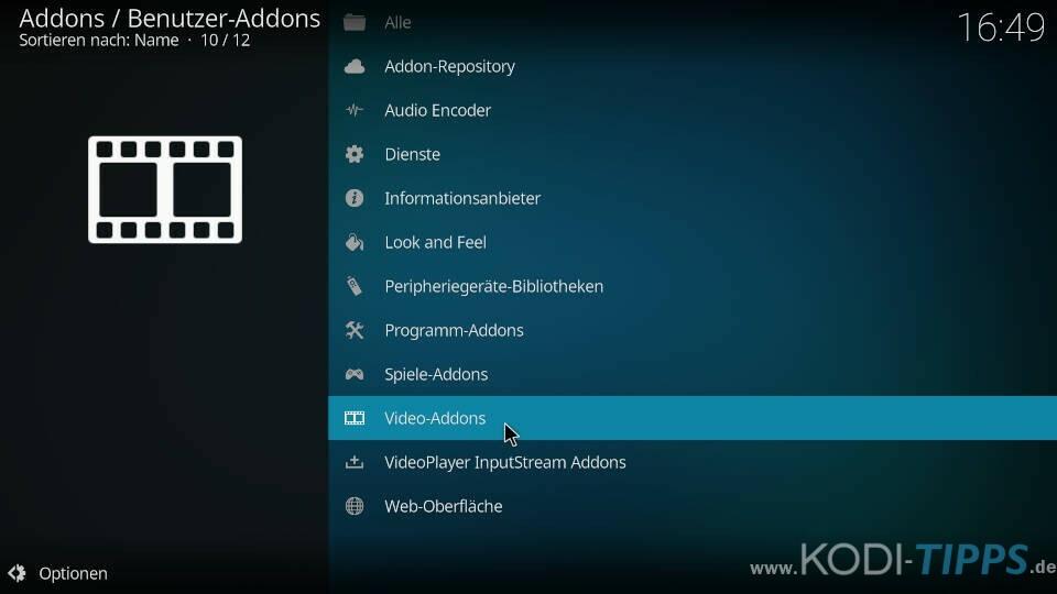 Winner Kodi Addon installieren - Schritt 6